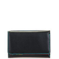 Medium Tri-fold Wallet-Black/Pace