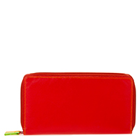 Large Double Zip Wallet-Jamaica