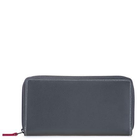Large Double Zip Wallet-Storm