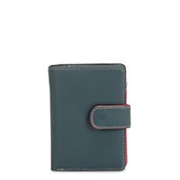 Medium Snap Wallet-Urban Sky