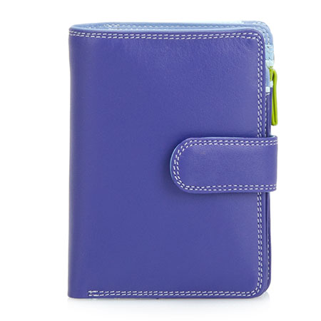 Medium Snap Wallet-Lavender