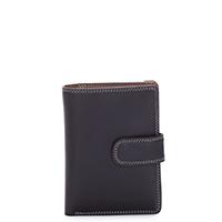 Medium Snap Wallet-Mocha