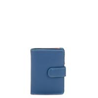 Medium Snap Wallet-Aqua