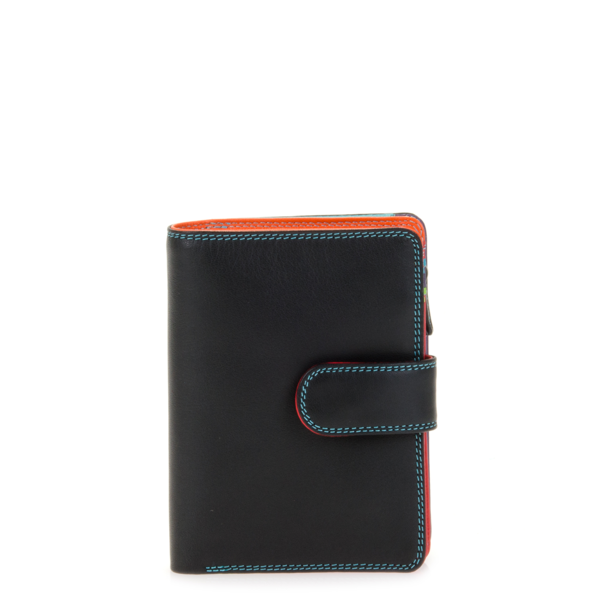 Medium Snap Wallet-Black/Pace