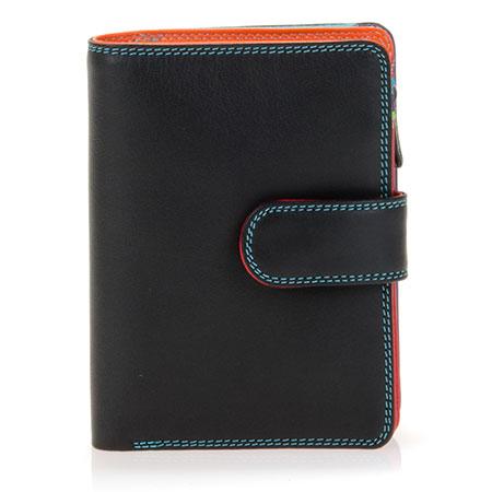 Medium Snap Wallet-Black/Pace