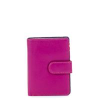 Medium Snap Wallet-Sangria Multi