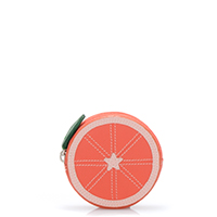Fruits Orange Purse-Orange