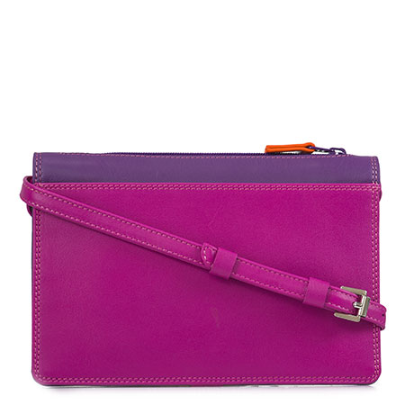 Small Travel Pouch-Sangria Multi