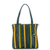Laguna Small Shopper-Evergreen