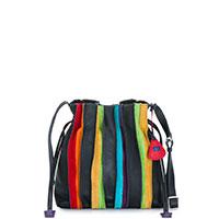 Laguna Drawstring Pouch Bag-Black