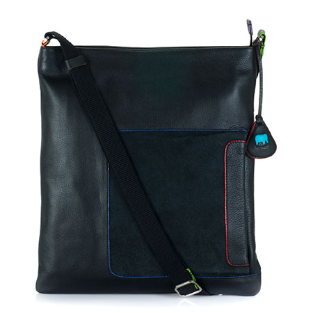 Havana Large Crossbody-Black/Pace