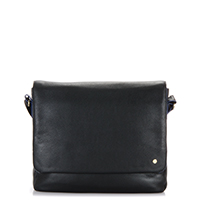 Panama Messenger Bag-Black