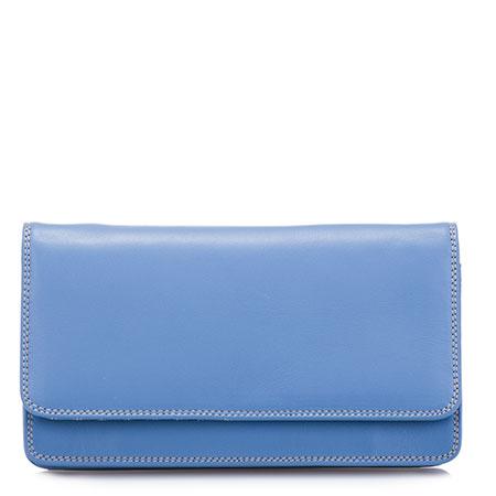Medium Matinee Purse-Dusky Blue