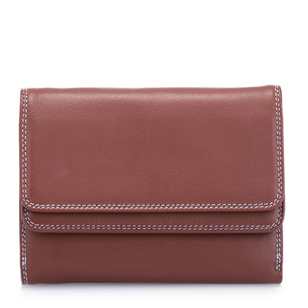 Double Flap Wallet-Brown