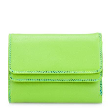 Double Flap Wallet-Green