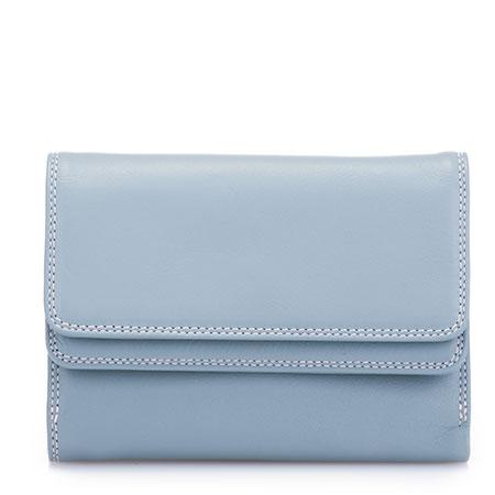 Double Flap Wallet-Light Grey