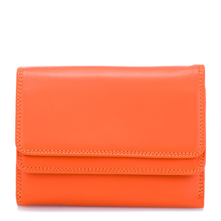 Double Flap Wallet-Sunset