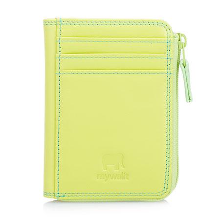 Small Zip Purse Wallet-Lemon