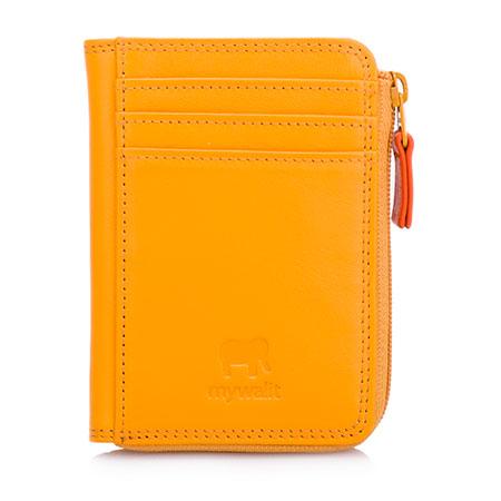 Small Zip Purse Wallet-Yellow