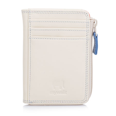 Small Zip Purse Wallet-Beige