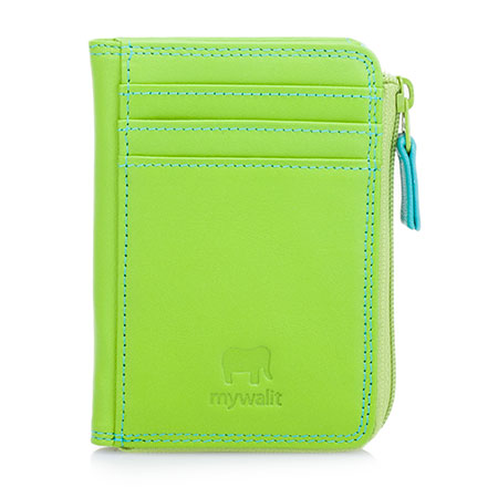 Small Zip Purse Wallet-Green