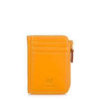 Small Zip Purse Wallet-Dark Yellow