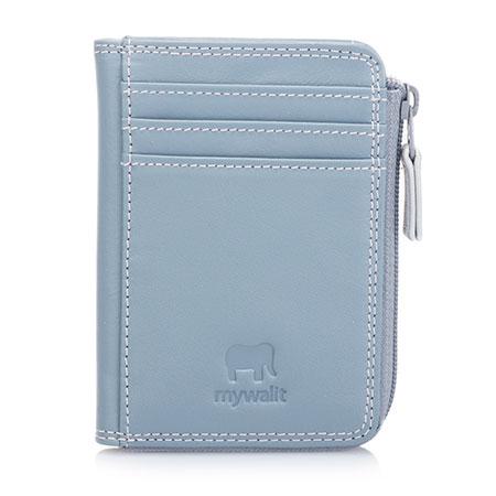 Small Zip Purse Wallet-Light Grey