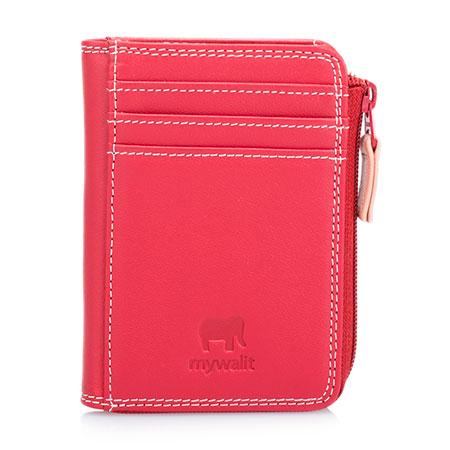 Small Zip Purse Wallet-Brick