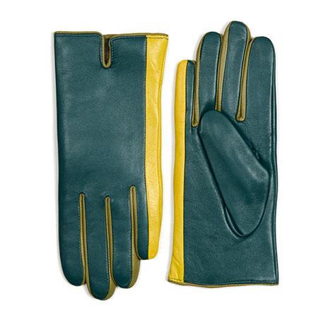 Short Gloves (Size 7.5)-Evergreen