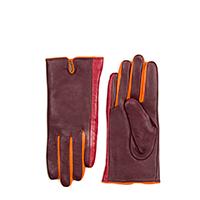 Short Gloves (Size 7.5)-Berry Blast