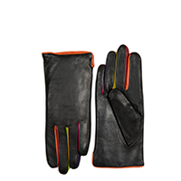 Short Gloves (Size 7.5)-Black/Pace