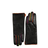 Long Gloves (Size 7.5)-Black/Pace